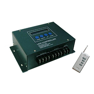 High Output Wireless (RF) RGB LED Controller and DMX Decoder