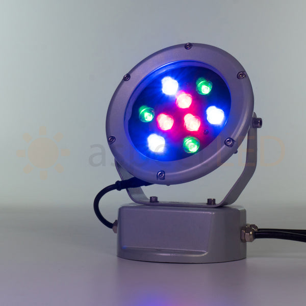 27w Single Color Dmx Color Changing Led Flood Light