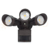 30W Triple Head Motion Flood Light for Residential/Light Commercial