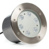 6 LED Large In-Ground/In-Wall LED Light - RGB+White (24W)