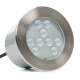 9 LED Large In-Ground/In-Wall LED Light - Ultra Bright (27W)