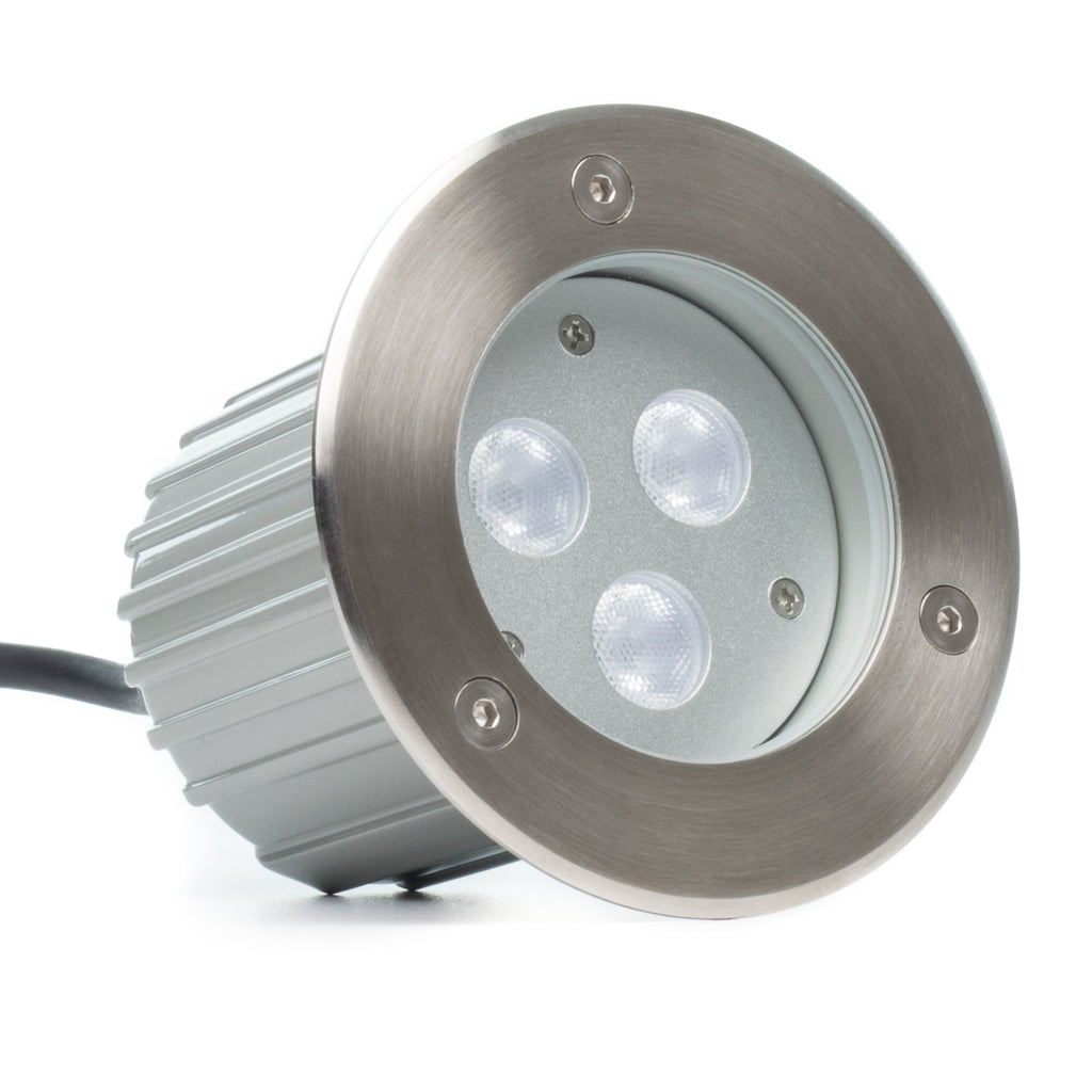 425 In Ground 9w Led Well Light Stainless Steel Aspectled How To Install A Fixture Tools And Materials Medium Wall Ultra Bright