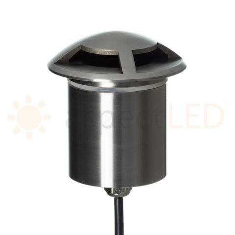 In-ground Stainless Steel Pathway Light (3W)