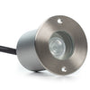 Small Round In-Ground/In-Wall LED Light - Ultra Bright (3W)