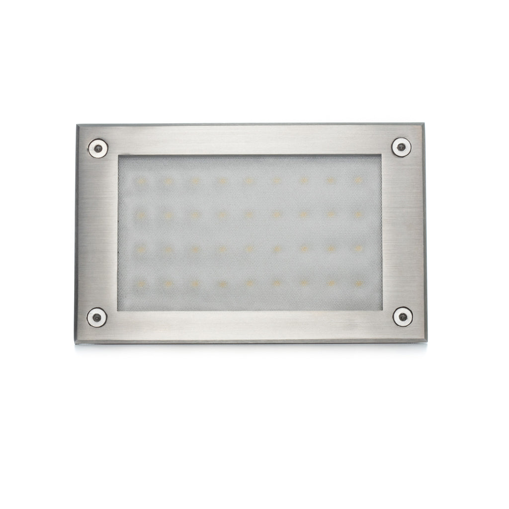Recessed in wall lights aspectled recessed indooroutdoor led in wall step light aloadofball Choice Image