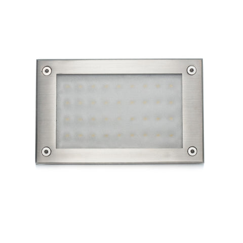 Recessed Indoor/Outdoor LED In-wall Light