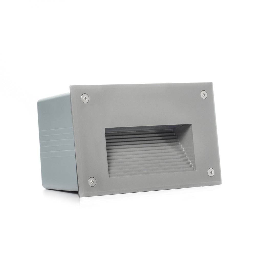 Recessed in wall lights aspectled modern landscape recessed indooroutdoor led in wall step light aloadofball Choice Image
