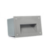 Modern Horizontal Landscape Recessed Indoor/Outdoor LED In-Wall Stair Step Light