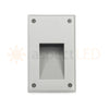 Modern Portrait Recessed Indoor/Outdoor LED In-wall Light