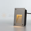 Modern Portrait Vertical Recessed Indoor/Outdoor LED In-Wall Stair Step Light