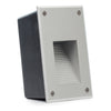 Modern Portrait Recessed Indoor/Outdoor LED In-wall Step Light