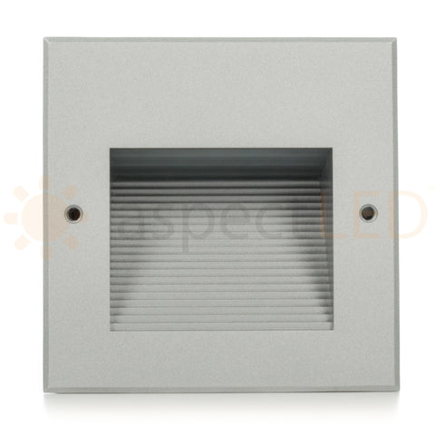 Modern Square Recessed Indoor/Outdoor LED In-wall Light