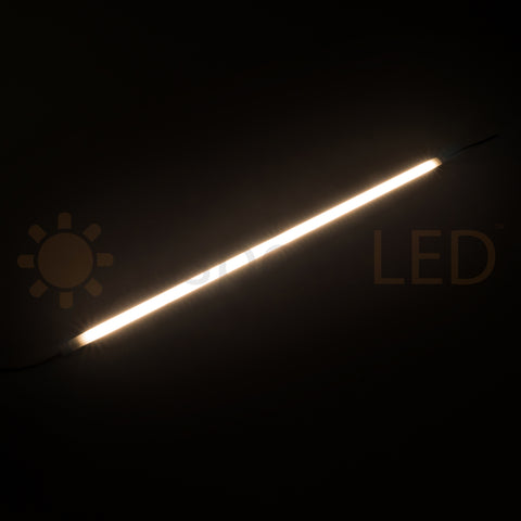 "18"" LED Under Cabinet Low Profile Light Bar - Dimmable Low Voltage"