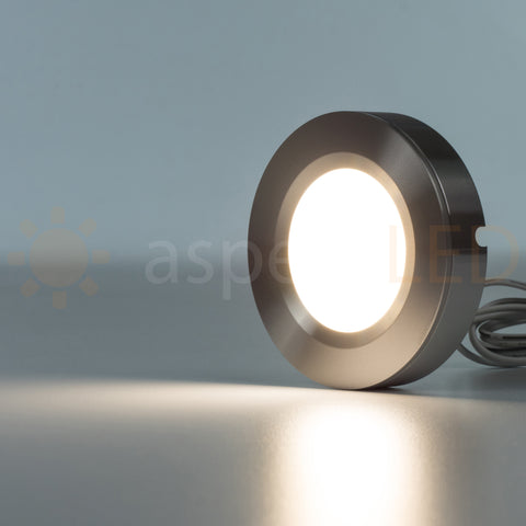 "2.75"" Round Diffused Low Voltage Puck Light - 3W (25 Watt Equivalent)"