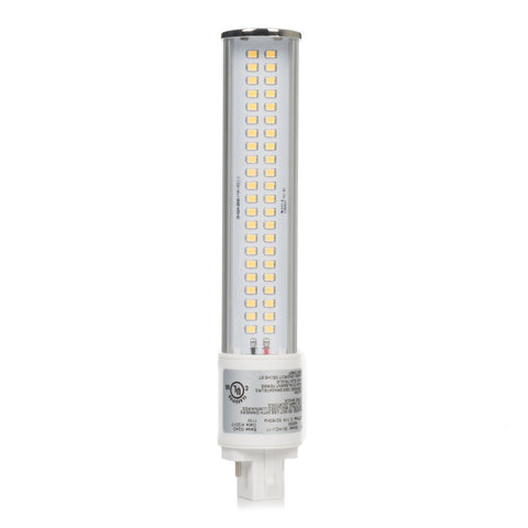 11W Retrofit LED PL 120 Degree Bulb - G24Q Base - UL Listed