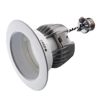 "4"" Dimmable LED Recessed Can Trim (LED Retrofit)"