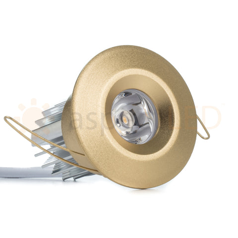 2 led niche recessed downlight ultra bright 3w aspectled