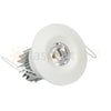 White painted LED recessed light