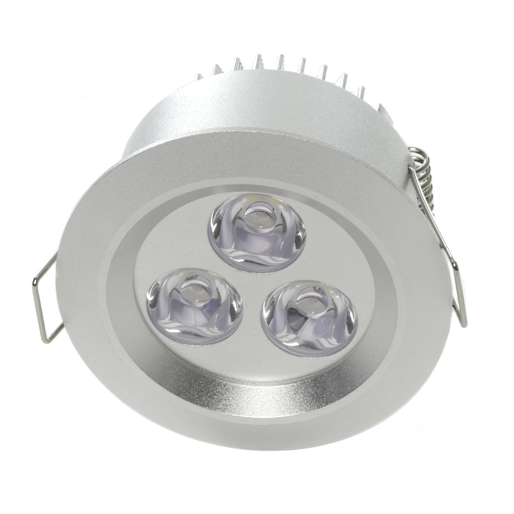 Recessed in ceiling lights aspectled 315 led recessed light standard bright 3w aloadofball Choice Image