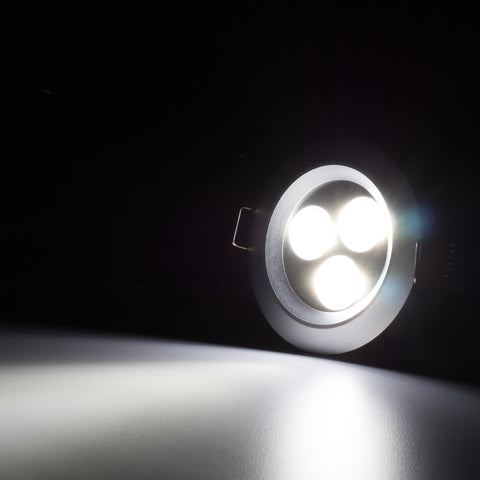 3 15 Quot 9 Watt Led Recessed Downlight No Can Needed