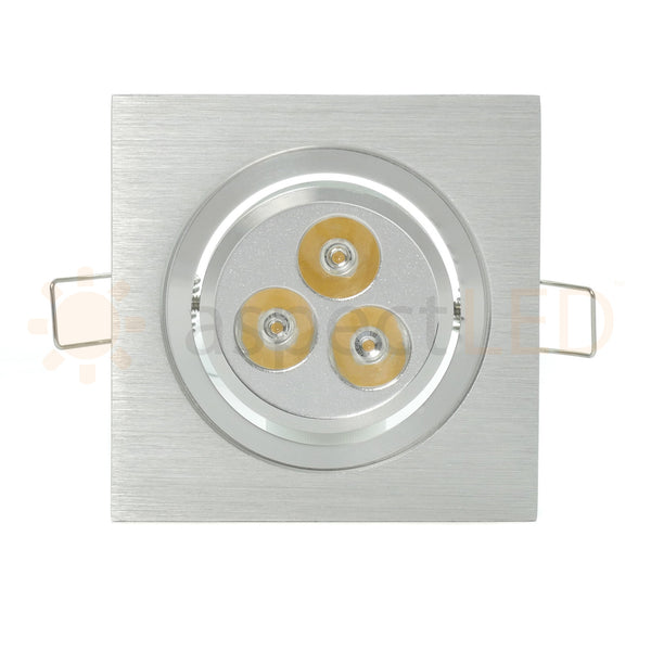 Led Recessed Lighting For Vaulted Ceiling : Modern series led recessed light for flat or sloped