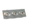 Modern Micro Series (3 LED) Recessed Light for Flat or Sloped Ceilings - 3W