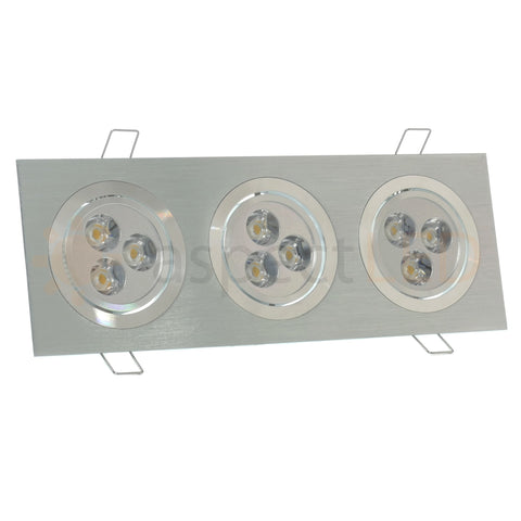 Modern Series 9 LED Recessed Light for Flat or Sloped Ceilings - Ultra Bright (27W)