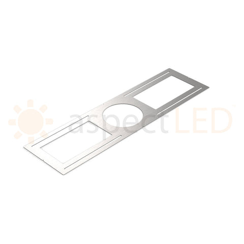 Rough-In Plate/Bracket for Round/Modern Series Recessed LED Lights