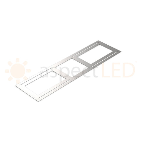 Rough-In Plate/Bracket for Ultra-Thin Recessed LED Light