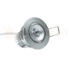"NSF Certified 2.25"" LED Recessed Light for Flat or Sloped Ceilings - Ultra Bright (3W)"