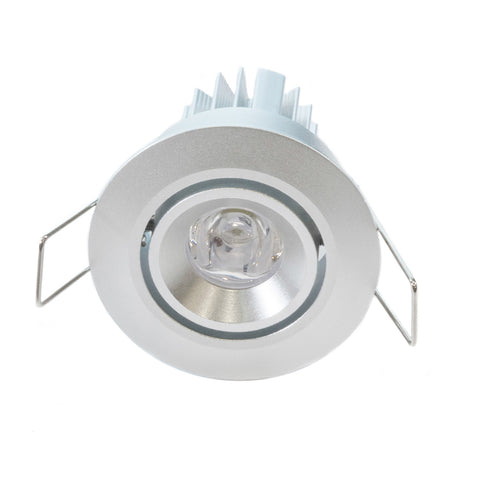 Mini adjustable head LED niche light