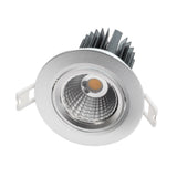 COB can-free single array recessed downlight