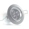 "3.5"" LED Recessed Light for Flat or Sloped Ceilings - Ultra Bright (9W)"