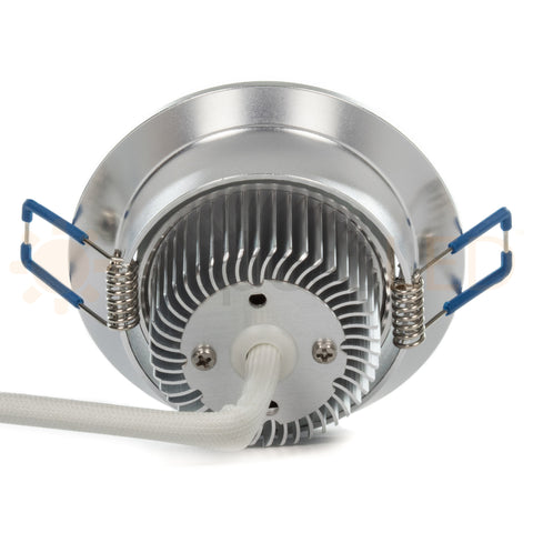 "3.5"" RGB LED Recessed Light - Ultra Bright (9W)"