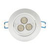 "3.5"" RGB + White LED Recessed Light - Ultra Bright (24W)"
