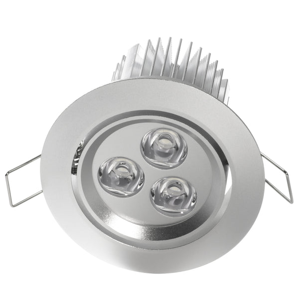 Led Recessed Lighting For Vaulted Ceiling : Quot led recessed light for flat or sloped ceilings
