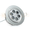 "NSF Certified 4.2"" Recessed Light for flat or Sloped Ceilings 6 LED - 6W"