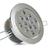 "5.2"" Recessed Light for Flat or Sloped Ceilings - 12 LED (12W)"
