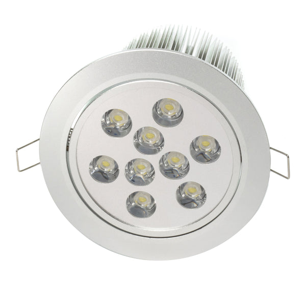 5 4 Quot Recessed Light For Flat Or Sloped Ceilings 9 Led
