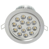 "5.5"" Recessed Light for Flat or Sloped Ceilings - 15 LED (15W)"