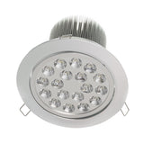 "6.3"" Recessed Light for Flat or Sloped Ceilings - 18 LED (18W)"