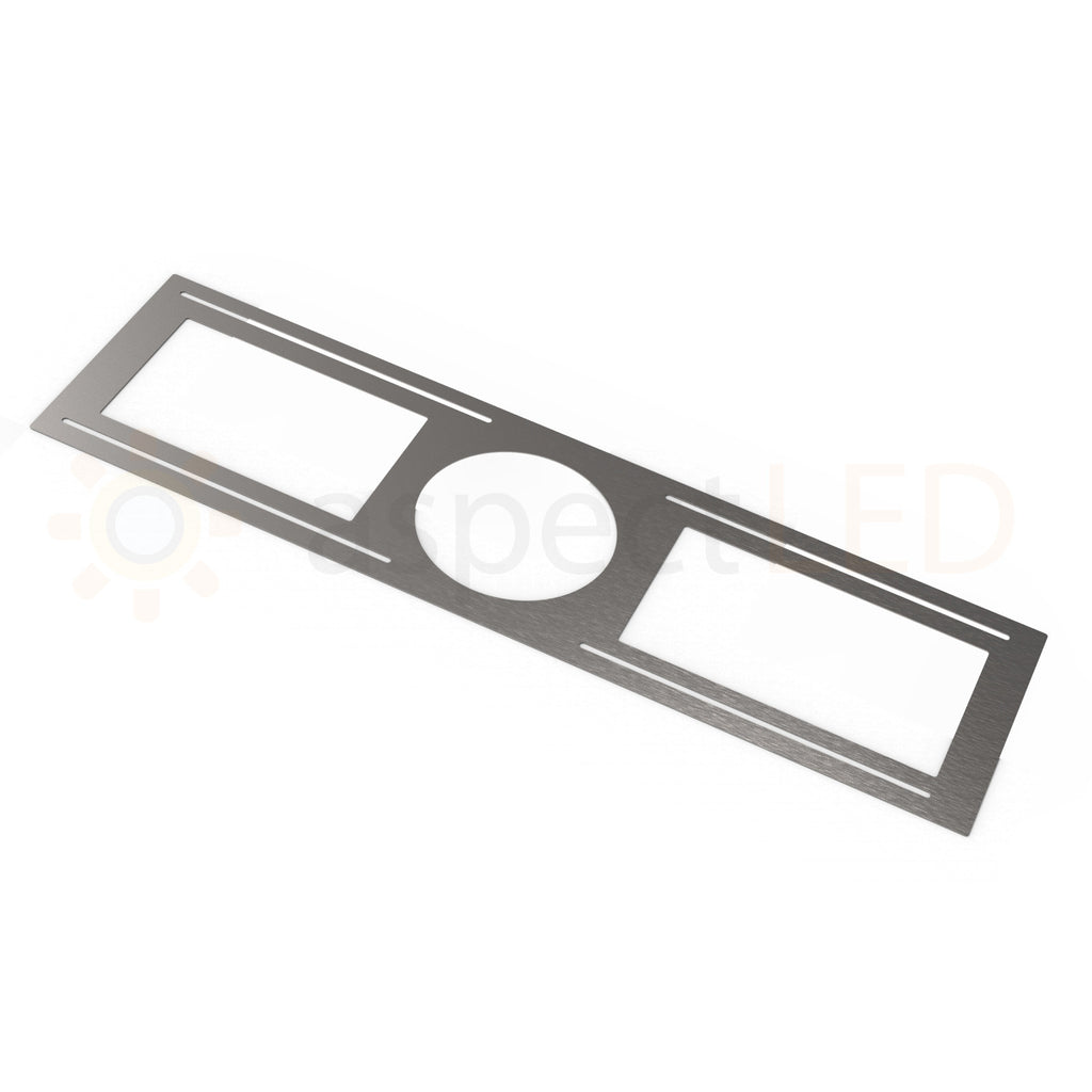 9 Square Ultra Thin Led Recessed Downlight 18 Watt Aspectled Commercial Wiring Rough In Plate Bracket For Light