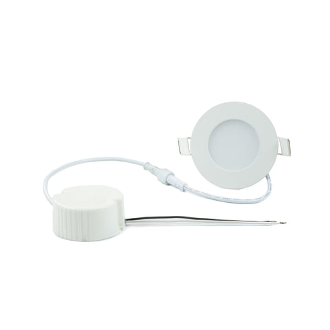 "NSF Certified 3.5"" Ultra-Thin LED Recessed Light - 3 Watt"