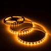Amber/yellow LED strip light