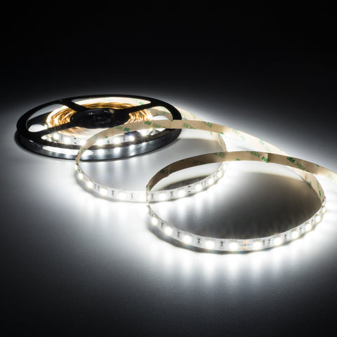 Cool White 6000K LED strip/tape light