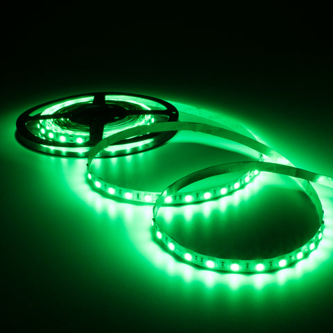 Green LED strip/tape light