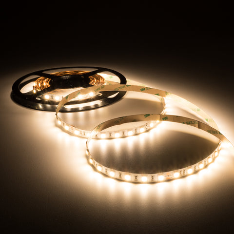 Warm white 3000K LED strip/tape light