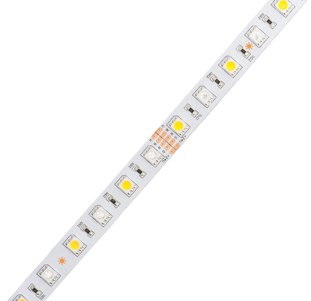 Rgb W Color Changing Flexible Led Strip Light 450 Lm Ft Aspectled Circuit Series File Parallel Rgbw Ultra Bright 18 Leds Foot