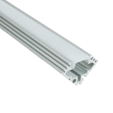 NSF Certified 45 Degree Corner Aluminum Mounting Channel for Strip Lights - Commercial Food Safety
