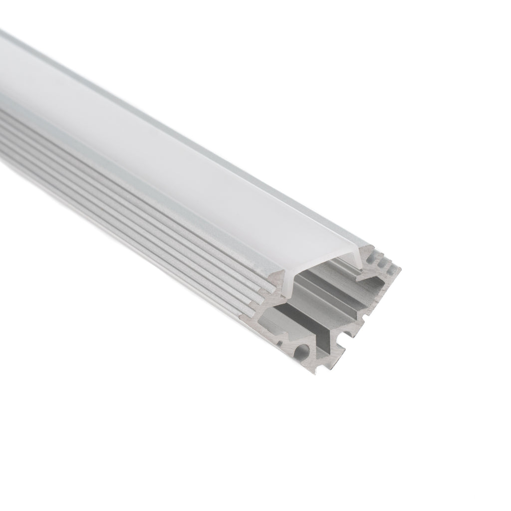 new product 567b1 b30fe 45 Degree (Corner Angle) Aluminum Mounting Channel for Flexible Strip Lights